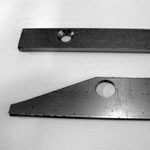 Carbon Steel Shims - Bolt Hole with countersink